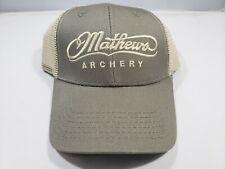 Mathews Archery Mesh Snapback Cap - Hat Authentic Mathews FREE SHIPPING