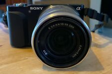 Sony Alpha NEX-3N Mirrorless Digital Camera with 16-50mm f/3.5-5.6 Lens Black