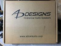 """1 Pair NEW AD Designs 2000 series 6.5"""" Component speaker Set,Rare,NIB,SQ"""