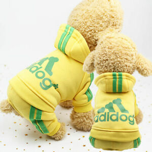 Adidog clothes Autumn And Winter New Pet Clothes Small Medium Clothes Luxury Dog