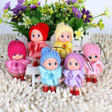 1PCS NEW STYLE SOFT KIDS TOYS BABY DOLLS TOY CUTE MINI DOLL KEYCHAINS FOR GIRLS