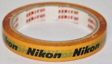 """Nikon Factory Sekisui Original Orange 1/2"""" Masking Tape Roll Made In Japan"""