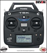radio control Futaba TX 6K/V2 8CH FHSS R3006SB Helicopter Electrical mode 1