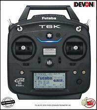 Télécommande Futaba TX 6K/V2 8CH FHSS R3006SB Hélicoptère électrique radio mode