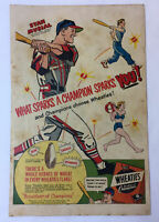 1951 Wheaties ad page ~ STAN MUSIAL ~ St Louis Cardinals