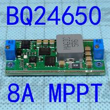 Solar Lithium Lead Acid Battery High Power Charging Module Bq24650 Mppt 8a 100w