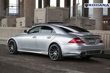 20x9 20x11 +28 Rohana RC10 5x112 Machine Rims Fit Mercedes CLS500 2006 Staggered