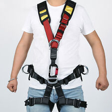Safety Outdoor Rock Climbing Tree Arborist Rappelling Caving Belt Harness