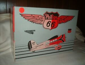PHILLIPS 66 LOCKHEED AIRPLANE BANK (1ST IN A SERIES) LIMITED EDITION  - #35028