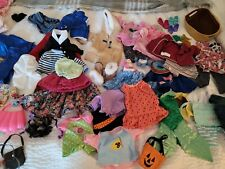 """HUGE lot 75 American Girl Doll Our Generation 18"""" Clothing and Accessories plus"""