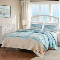 Greenland Home Maui Quilt Set, 3-Piece Full/Queen, Multi