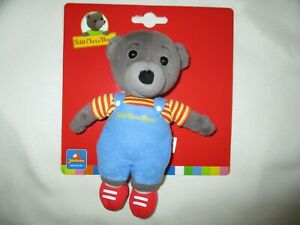 Petit Bear Brown Dungaree Blue 17 CM JEMINI New Plush Teddy