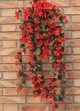 Blumenranke Künstliche Blumen Girlande Kunstpflanzen Deko Kunstblumen Violett