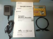 Sony Net Md Walkman Mz-N505 Type-R MiniDisc Recorder
