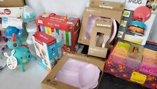 Large Lot Of New Baby/Infant Items Cups Plates  Nipples Toys Nuk Herobillty  Mam