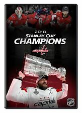 NHL 2018 Stanley Cup Champions [DVD] *NEU* Washington Capitals Meister Ovechkin