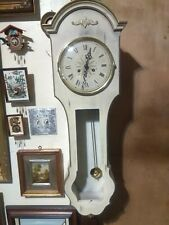Vintage Wind up German Wall Clock by Colonial 36x12x4