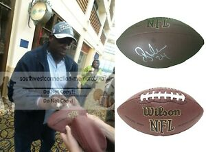 O.J. Ottis Anderson N.Y. Giants Signed NFL Football Cardinals Proof of Autograph