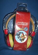 Rare IRONMAN 3 HEADPHONES DJ Over the Ear Marvel Advengers  NEW SEALED