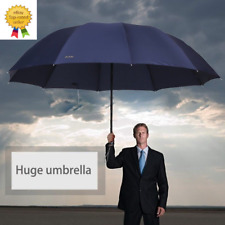 Big Umbrella Top Quality Men Woman Rain Windproof Large Paraguas Male Women Sun
