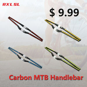 Carbon MTB Handlebar 31.8mm Mountain Bike Flat/Riser Bar 680/700/720/740mm