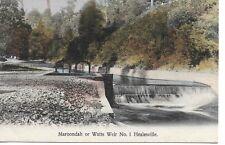 MAROONDAH OR WATTS WEIR No.1 HEALESVILLE VICTORIA POSTCARD