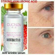 Hyaluronic Acid Strong Anti Wrinkle Serum 100 Natural Pure Firming Collagen Collagen