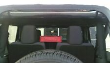 2007-2017 JEEP WRANGLER REAR WINDOW ROLL UP STRAPS NEW DESIGN FOR STRENGTH