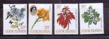 COOK ISLANDS 1967 flowers MUH