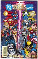 Marvel Versus DC 1 1996 NM 9.4 Wolverine Batman X-Men Superman Spider-Man