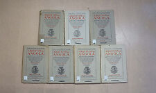Arquivos De Angola - 7 Issues 1955-1962 Colonial History Portugal Africa
