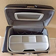 VINTAGE AMERICAN TOURISTER TRAIN/MAKE-UP CASE WITH TRAY & MIRROR SEE PIC'S