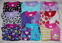 TCP BABY GIRL STRETCHIE FOOTED BLANKET SLEEPER COTTON L/S PAJAMAS 03-24M 2T-5T