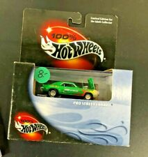 100% Hot Wheels COOL COLLECTIBLES PRO STREET CAMARO  NEW 1399