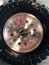 16x8 ( outlaw 2 ) wheel,,, american racing, 8 lug,,, ford chevy dodge, 8 on 6.5