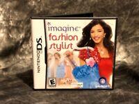 Imagine: Fashion Stylist (Nintendo DS, 2010) Complete