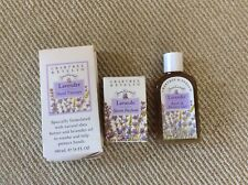 Crabtree & Evelyn lavender hand therapy, bath & shower gel, Soap lot of 3 New!