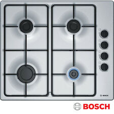 BOSCH PBP6B5B80 Built-in Stainless Steel Kitchen Gas Hob!!!