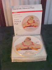 NIB-1983 Norman Rockwell Book Of Gifts Electronic Musical Collector Plate