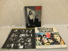 Rolling Stones Biography Books + 1979 Rock Shots Calendar Rock & Roll Ephemera