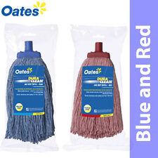 400gm MOP HEAD Blue and Red Colour Bulk Mixed 12/Ctn-OATES DURACLEAN