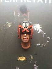 Art Figures Heavy Armored Cop Judge Alvarez Helmet & Sculpt loose 1/6th scale
