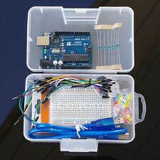 Arduino Starter Funduino Basic Kit Uno R3 + LED Lighting + Breadboard + Resistor