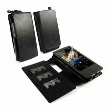 TUFF LUV Faux Leather Case Cover for FiiO X7 / X7 ii & E12 Amp - MP3- Black