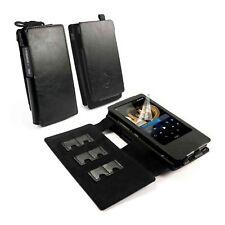 TUFF LUV Faux Leather Case Cover for FiiO X7 / x7 ii & E12 Amp - MP3- Black