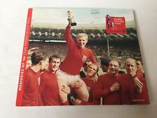 Bobby Moore memories of 66 coin presentation pack One Crown Gibraltar 2006