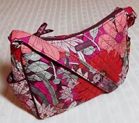 Vera Bradley On The Go Crossbody Purse Bohemian Blooms Red NWT MSRP $70