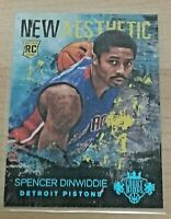 2014-15 Panini Court Kings New Aesthetic Spencer Dinwiddie RC Sapphire 25/25
