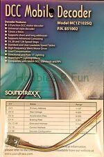 Soundtraxx 851002 MC1Z102SQ Mobile decoder for Z & N scale Locos