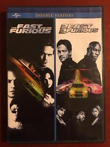 The Fast and the Furious - 2 Fast 2 Furious (DVD, double feature) - E0527
